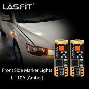 T10 168 194 LED Front Side Marker For Mercedes E-Class W211 E320 E350 E500 E550