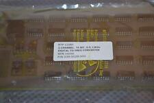 ONE NEW RTP CORP  2-CHANNEL 15 BIT DIGITAL TO FREQ CONVERTER 038-0028-000