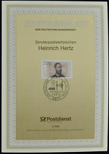 Germany 2/1994, Heinrich Hertz Ersttagsblatt