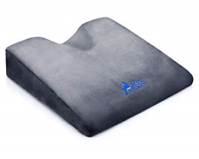 Desk Jockey Car Seat Memory Foam Wedge Cushion Pillow - Elevate Height and While