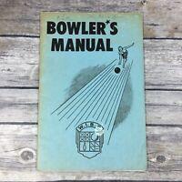 1950 Woman's International Bowling Congress Bowler's Manual WIBC Rules Manual