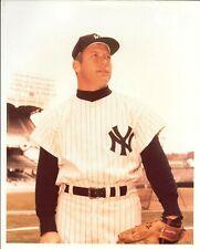 "MICKEY MANTLE New York Yankees HOFer 3 X MVP COLOR 8"" X 10"" c.1960-65 NICE!!"