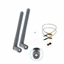 2 x 2dBi Antenna Mod Kit For WRT120N WRT310N E1000 E1200 WRT54G2 WRT160N