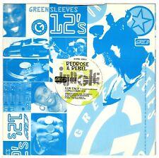"REDROSE & TONY REBEL-gun talk   greensleeves    12""   (hear)    reggae jungle"