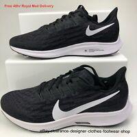 Nike Air Zoom Pegasus 36 Running Trainers Black White Free 48Hr Del RRP £130