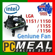 Genuine INTEL CPU Cooler Heatsink Fan LGA 1155 1156 1151 1150 Aluminium Quiet
