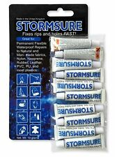 Stormsure Flexible Repair Adhesive 10 x 5g Value Pack Fix All Surfaces Shoe Glu