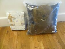 Pottery Barn Organic Twin Star Wars Sheet set Droid + Chewbacca Pillow jedi r2d2