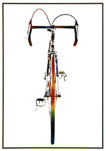 "John D Wibberley Cycle Art - Original ""Bike"" Post Card 4.5"" x 6"""