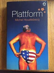 Plattform - Michel Houellebecq Roman Svenska Swedish Schwedisch