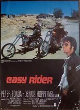 EASY RIDER - HOPPER / FONDA - BIKER / MOTORCYCLE - REISSUE FRENCH MOVIE POSTER
