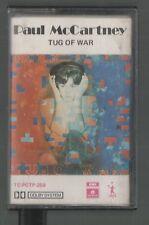 PAUL McCARTNEY cassette 1982 TUG OF WAR - Ebony Ivory  THE BEATLES