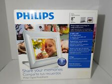"""Philips 8FF2FPW 8"""" Digital Picture Frame"""