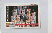 1992 HOOPS  TEAM USA GOLD  W/ MICHAEL JORDAN        NRMT/MT