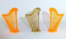 Playmobil - 3 x Harfe - Zupfinstrument - Musikinstrument - Set - TOP !!! - #1