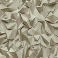 P&S Vinyl Coated Wallpaper Rolls & Sheets 3D Design