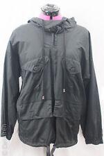 """Jens Laugesen Quirky Black Lightweight (Shirt) Lagenlook Cargo Hoodie  B=50"""" XL"""