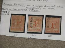 Great Britain, Midland Prepaid Newspaper Parcel, 1890 Die Ii, 27, 30, 28