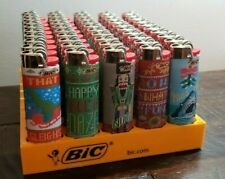 NEW BIC Holiday Edition 50 Count Lighters.  Made in USA.   Free Shipping.