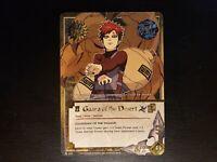 Naruto CCG - gaara of the desert [Guardian Of The Village] 525 Super Rare NM