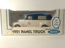 1951 GMC Panel Truck Limited Edition 9 Agway 1:25 Scale Diecast Ertl 1994 dc2148