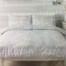 Snoozy Words Sweet Dreams Single Reversible Polycotton Easy Care Duvet Set Tesco