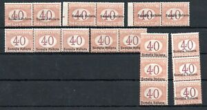 ITALY , SOMALIA , 1920 , very scarce 40 c POSTAGE DUE stamp , 17 STAMPS ! MNH !