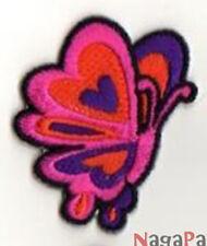 Petit Ecusson thermocollant écusson brodé patche Papillon patch