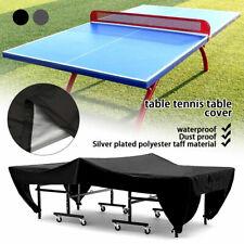 Ping Pong Table Tennis Table Cover Anti-UV Waterproof Indoor / Outdoor Garden