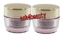 Lot of 2 Estee Lauder Resilience Lift Face /Neck Creme Spf 15 .5oz New&Unbox