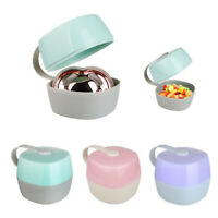 Baby Infant Pacifier Box Case Holder Portable Travel Soother Travel Container