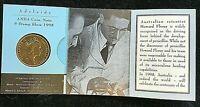 """Australia 1998 Howard Florey  $1 """"A""""  Mint Mark"""