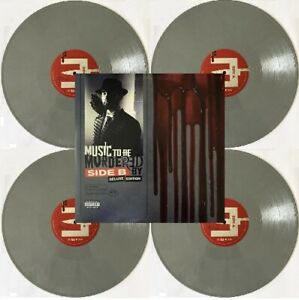 EMINEM - MUSIC TO BE MURDERED BY (SIDE B) Deluxe - 4 LP Grey VINYL NEW ALBUM