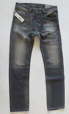 Diesel Men Jeans 34 W x 32 Waykee 0608B Gray Regular Straight Brand New w/ Tags