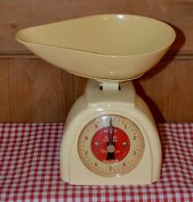 VINTAGE 1950'S ENGLISH SALTER KITCHEN SCALES No 59 ORIGINAL INSTRUCTIONS