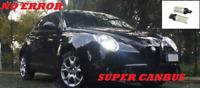 COPPIA 2 LAMPADE LED T20 LED LUCE POSIZIONE ALFA MITO FIAT 500 SMD W21/5W