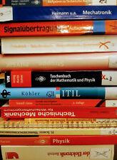 Bücher Paket Studium Technik Mechatronik Technische Mechanik Physik Harten
