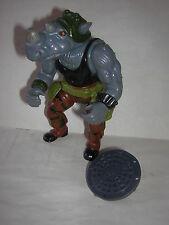 Tortue Ninja Rocksteady 1988  vintage teenage mutant ninja turtles TMNT