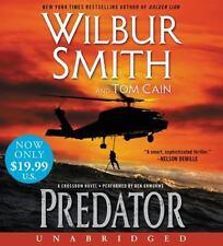 Wilbur Smith PREDATOR Unabridged 12 CD 15 Hours *NEW* FAST Ship in a BOX !