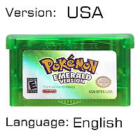 USA Version Pokemon Platinum,Diamond,HeartGold,SoulSilver Game Cards 3DS NDSI XL