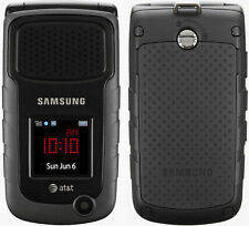 Samsung Rugby 2 II SGH-A847 Black (AT&T) T-mobile Unlocked Flip Cellular Phone