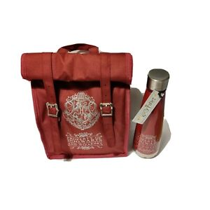 Genuine Harry Potter Roll Top Bag And Insulated Bottle - school lunch bag