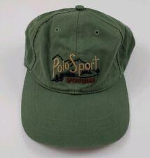 Vintage Polo Sport Ralph Lauren Sportsman Hat Rare 90s USA Outdoors Wildlife RL