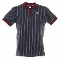 Polo Vintage shirt uomo FILA mod.3920530706 classic M/C 100%Cotone Col. M. Blue