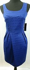 Alyn Paige New York Blue Sequined Dress - Size 9/10 - NWT