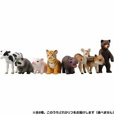 Takara Tomy ANIA MINI Action Figure Lot 1 Baby Animal Collection mammal 8X set