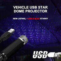 USB LED Car Interior Roof Atmosphere Star Night Light Lamp Projector Light New