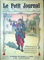 Le Petit Journal N°1130 14/7/1912 Le Réveil, la marseillaise