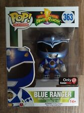 Funko pop! Blue Ranger metalizado GameStop Exclusive Power Ranges