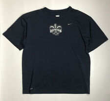 New Orleans Zephyrs Team Issued Game Used Short Sleeve Nike Fit Dry Shirt Medium